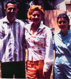Jerry London, Lucille Ball and Marilynn London at a Desilu Picnic 1956